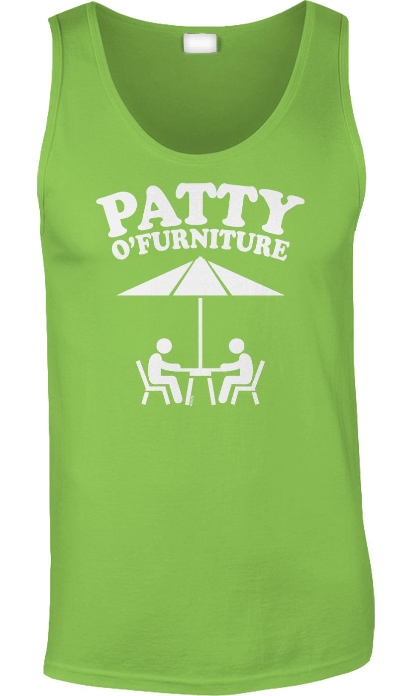 Image is loading Patty-O-Furniture-St-Patricks-Day-Nerd-Pun-