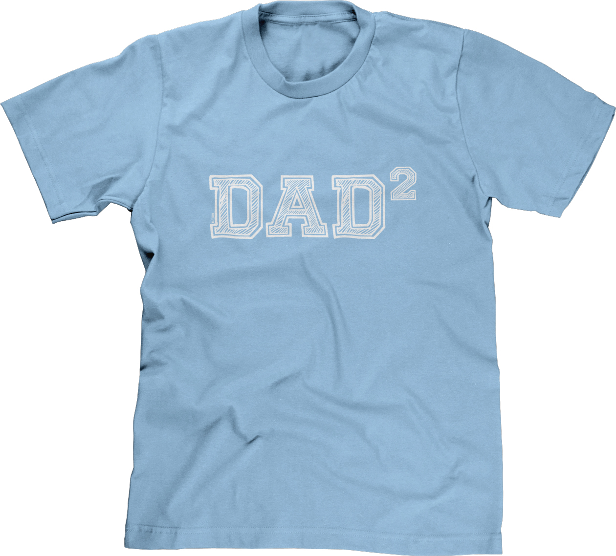 Dad of 2 Daddy Squared Fathers Day Gift Present Math Nerd Geek Papa ...